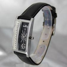 Moteriškas laikrodis RUBICON RN10B57 LS BK BK