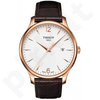 Laikrodis TISSOT T-TRADITION kvarcinis T0636103603700