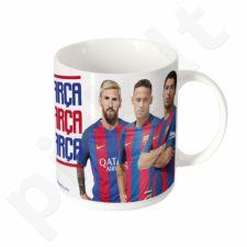 Puodelis FC Barcelona 320ml baltas