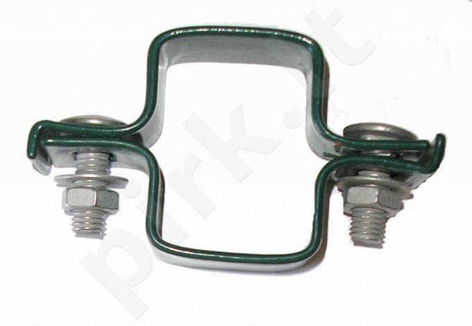 Apkaba metalinei tvorai tiesi su tvirtinimo varžtais