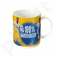 Puodelis Real Madryt 100% Madridista 320ml
