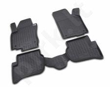Guminiai kilimėliai 3D VW Golf Plus 2004-2014, 4 pcs. /L65022