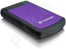 Išorinis diskas Transcend 25H3P 1TB USB3.0, Triguba smūgių slopinimo sistema