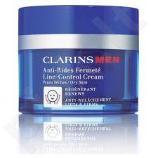Clarins Men, Line Control Cream, dieninis kremas vyrams, 50ml, (Testeris)