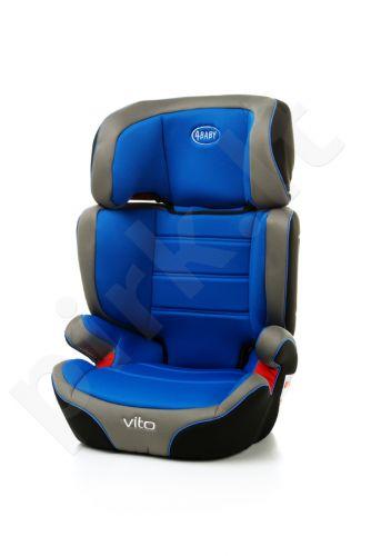 Autokėdutė 4Baby Vito 15-36 kg mėlyna