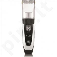Plaukų kirpimo mašinėlė Adler AD 2823 Titanium  4 comb attachments: 3, 6, 9, 12 mm
