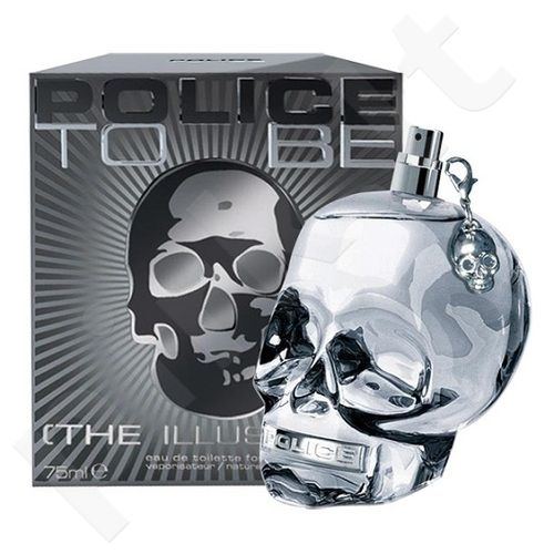 Police To Be The Illusionist, tualetinis vanduo (EDT) vyrams, 125 ml