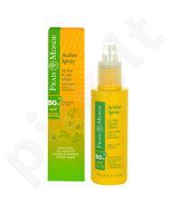 Frais Monde Active purškiklis Ultra Fluid purškiklis SPF50+, kosmetika moterims, 125ml
