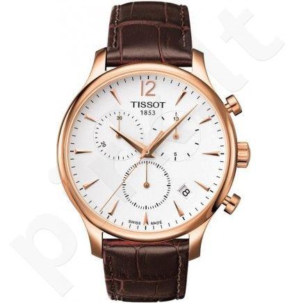 Laikrodis TISSOT T-TRADITION kvarcinis T0636173603700