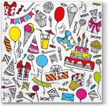 Servetėlės Birthday Party
