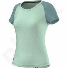 Marškinėliai bėgimui  Adidas Aktiv Tee W AC2137