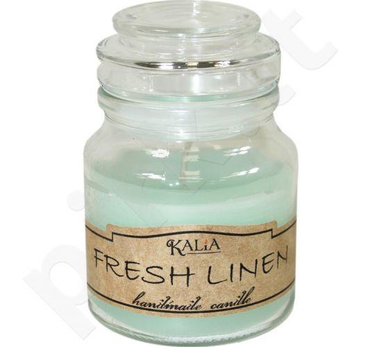 Žvakė stikle 100/70 Kalia Fresh Linen