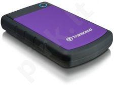 Išorinis diskas Transcend 25H3P 500GB USB3.0, Triguba smūgių slopinimo sistema