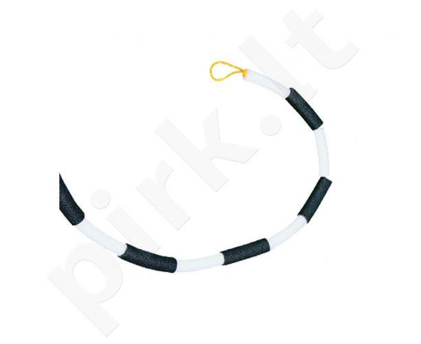 Šuoliui į aukštį elastinė kartelė  juoda-balta