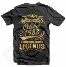 """Marškinėliai """"The Birth of Legends"""" su Jūsų pasirinkta data"""