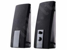 Kolonėlės 2+0 TRACER Cana USB Juodos