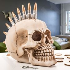 Pankiškos kaukolės formos taupyklė
