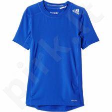 Marškinėliai termoaktyvūs Adidas YB Techfit Base Tee Junior AK2822