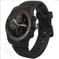 MyKronoz ZESPORT Smartwatch, Black, Touchscreen, Bluetooth, Heart rate monitor, GPS (satellite), Waterproof