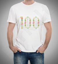 """Marškinėliai """"100 metų atkurtai Lietuvai"""""""
