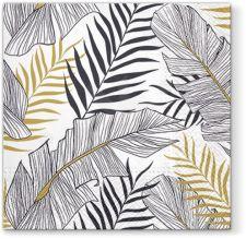 Servetėlės Exotic Leaves