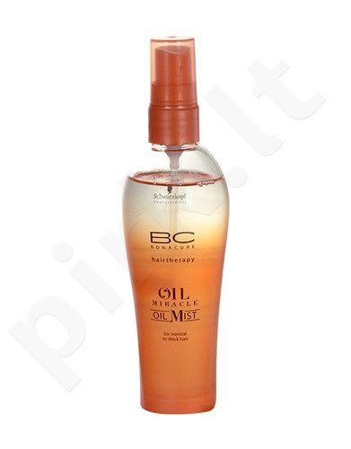 Schwarzkopf BC Bonacure Oil Miracle, Oil Mist, Hair Oils and serumas moterims, 100ml