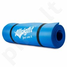 Gimnastikos kilimėlis NBR 180x60x1,5 Blue