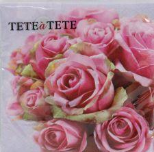 Servetėlės Tat Elegant Roses 96712