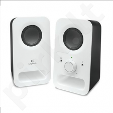 Logitech Z150 Speakers, Snow White