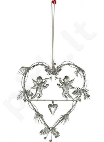 Dekoro elementas Širdis 103701