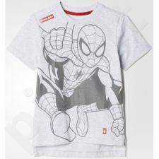 Marškinėliai Adidas Little Kids Disney Spiderman Cotton Tee Kids AY6074