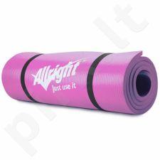 Gimnastikos kilimėlis NBR 180x60x1,5 Pink