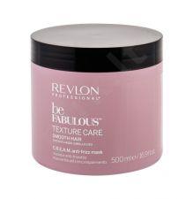 Revlon Professional Be Fabulous, Texture Care Smooth Hair, plaukų kaukė moterims, 500ml