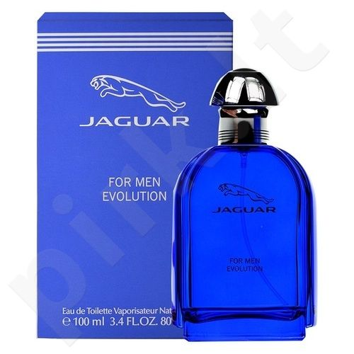 Jaguar for Men Evolution, tualetinis vanduo (EDT) vyrams, 100 ml