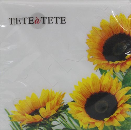 Servetėlės Tat Autumn Sunflower 96714