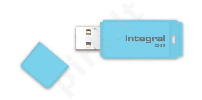 Integral Flash Drive Pastel 32GB, USB 3.0, Blue Sky