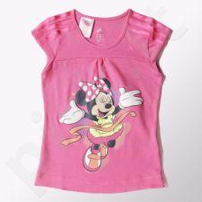 Marškinėliai Adidas Minnie Long Tee Kids S22062