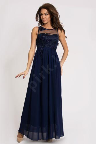 EVA&LOLA suknelė - mėlyno atspalvio 9710-3