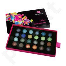 Dermacol Palette Color Sensation Akių šešėlių paletė, kosmetika moterims, 12g, (II)