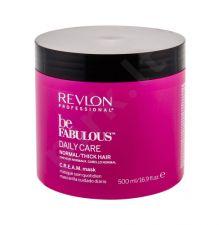 Revlon Professional Be Fabulous, Daily Care Normal/Thick Hair, plaukų kaukė moterims, 500ml