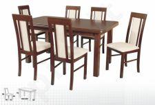 Stalas WENUS-P V + 6 kėdės NILO II