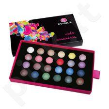 Dermacol Palette Color Sensation Akių šešėlių paletė, kosmetika moterims, 12g, (III)
