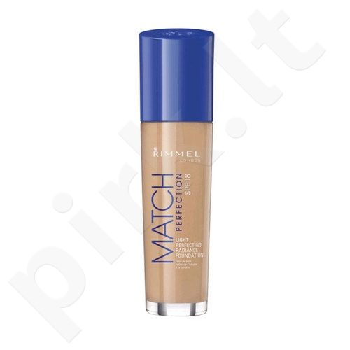 Rimmel London Match Perfection kreminė pudra SPF18, 30ml, kosmetika moterims  - 200 Soft Beige