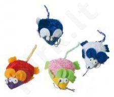 FUNNY MOUSE kačių žaislas įvairių spalvų