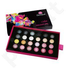 Dermacol Palette Color Sensation Akių šešėlių paletė, kosmetika moterims, 12g, (IV)