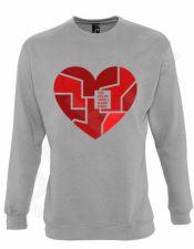 """Džemperis """"Visi keliai veda į mano širdį"""""""