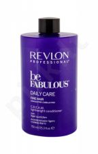 Revlon Professional Be Fabulous, Daily Care Fine Hair, kondicionierius moterims, 750ml