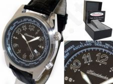 HEINRICHSSOHN Danzig Black HS1003B vyriškas laikrodis