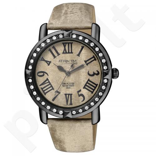Moteriškas laikrodis Q&Q Atractive DA93J505Y