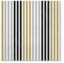Servetėlės Simple Lines Gold